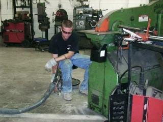 Factory Floor Leveling Concrete Raising Wisconsin