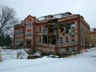 Minard Hall Collapse At North Dakota State University